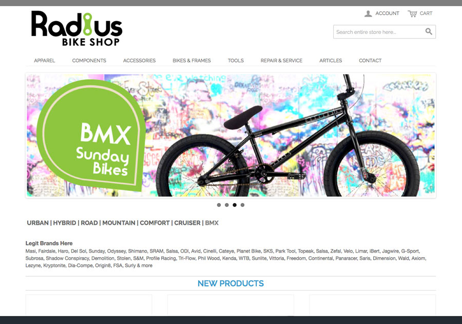 Radius Bike Shop